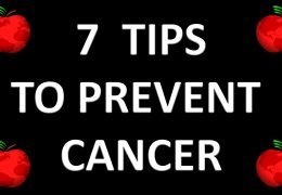 7 TIPS TO PREVENT & FIGHT CANCER – SAVING HEALTH MINISTRIES