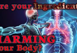 ARE YOUR FOOD INGREDIENTS HARMING YOUR BODY?