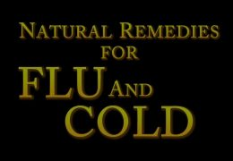Natural Remedies for Flu, Cold,  Allergies, Sneezing, Coughing, and Congestion