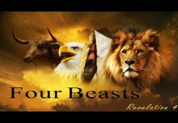 THE THRONE OF GOD, THE 24 ELDERS, & THE 4 BEASTS OF REVELATION 4